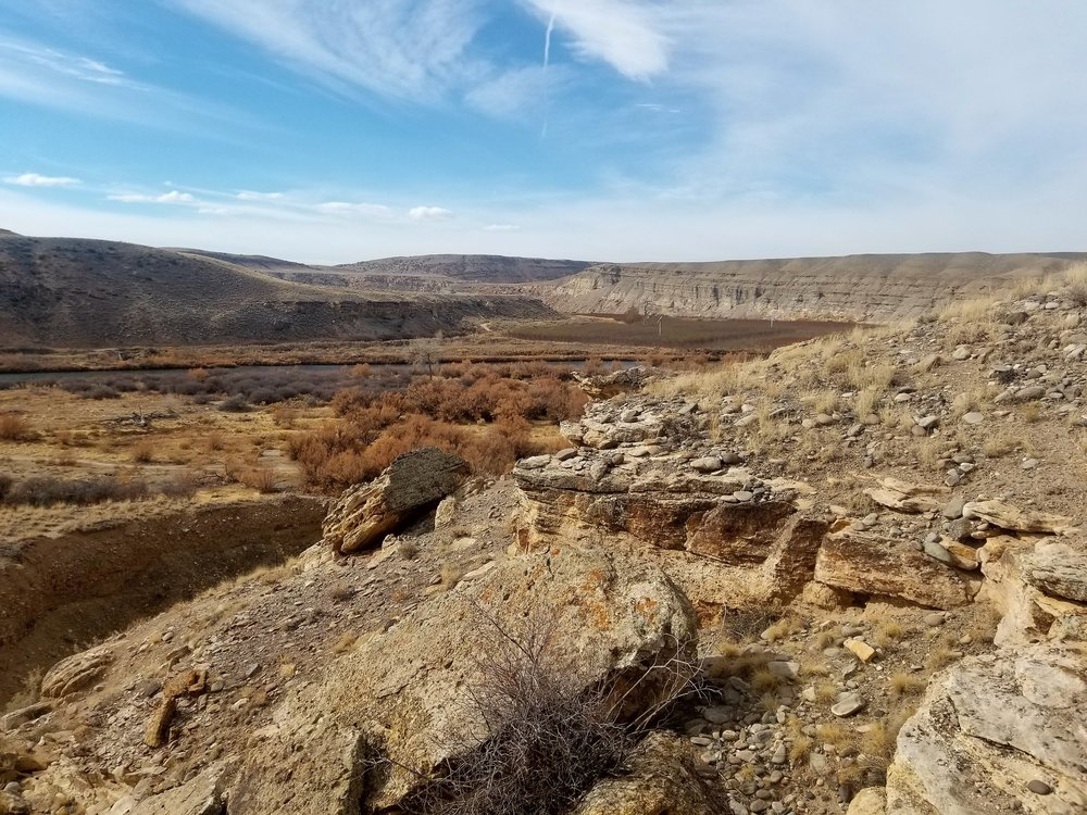Eagle Rock and Gunnison River