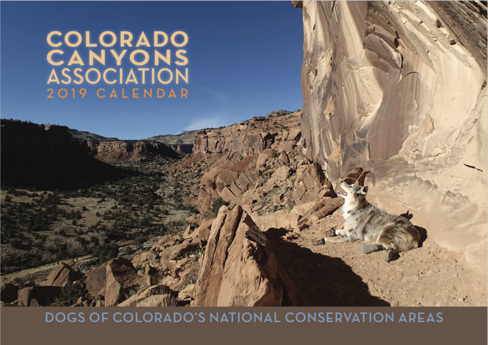 Calendars have recently dropped to $9.00 for in store purchases! Your purchase supports CCA's work stewarding the dog-friendly public lands (National Conservation Areas) so near and dear to our communities.