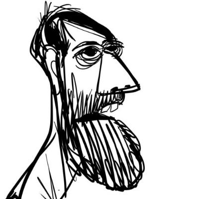 Drawing by Craig Kellman
