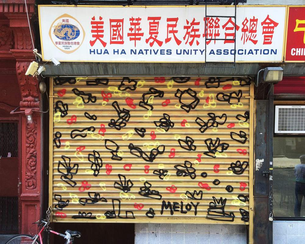 Chinese American Ao Jiang Village Association Inc. @ 285 Broome Street      Artwork by  Joseph Meloy