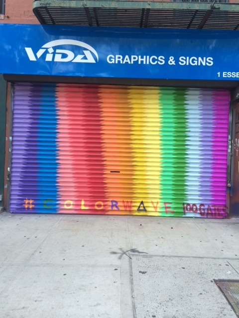 Vida Graphics @ 25 Canal Street    Artwork by  Sean O'Connor