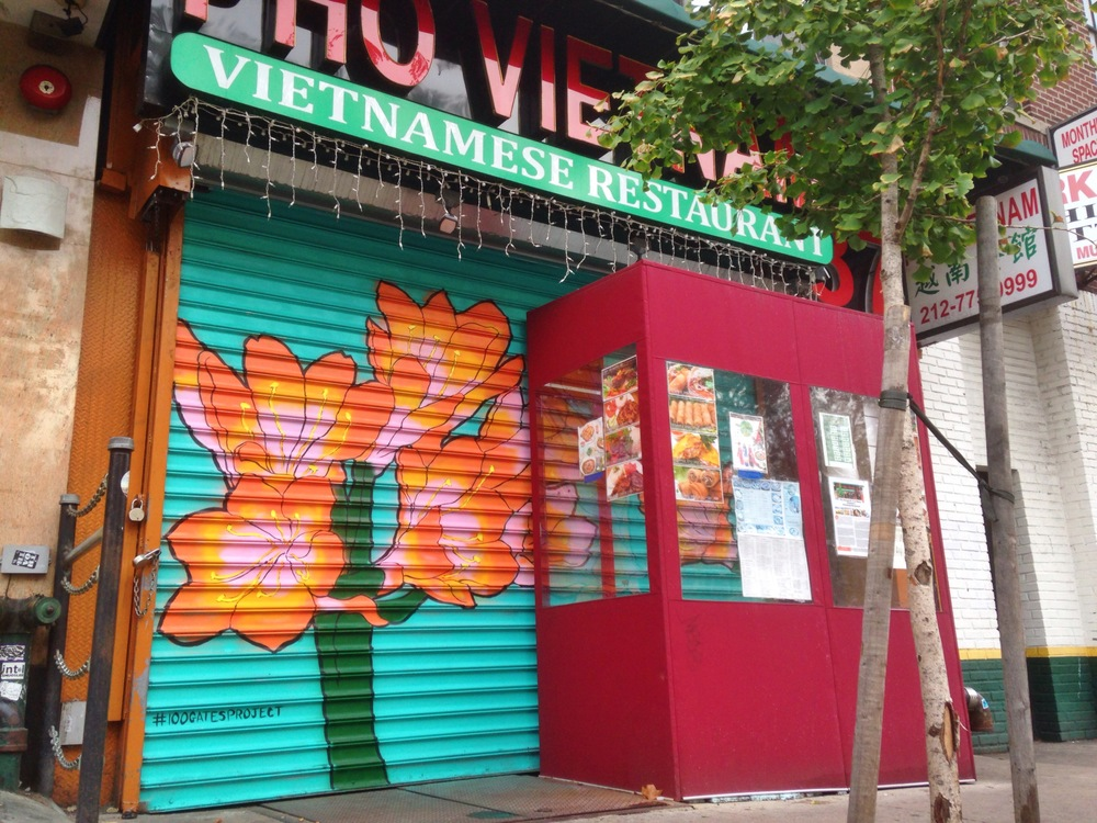Pho Vietnam @ 87 Chrystie Street    Artwork by Antonio Chiu