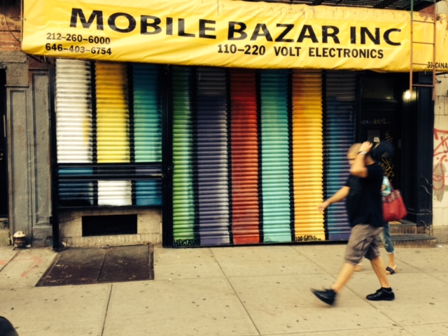 Mobile Bazar @ 33 Canal Street    Artwork by Hektad
