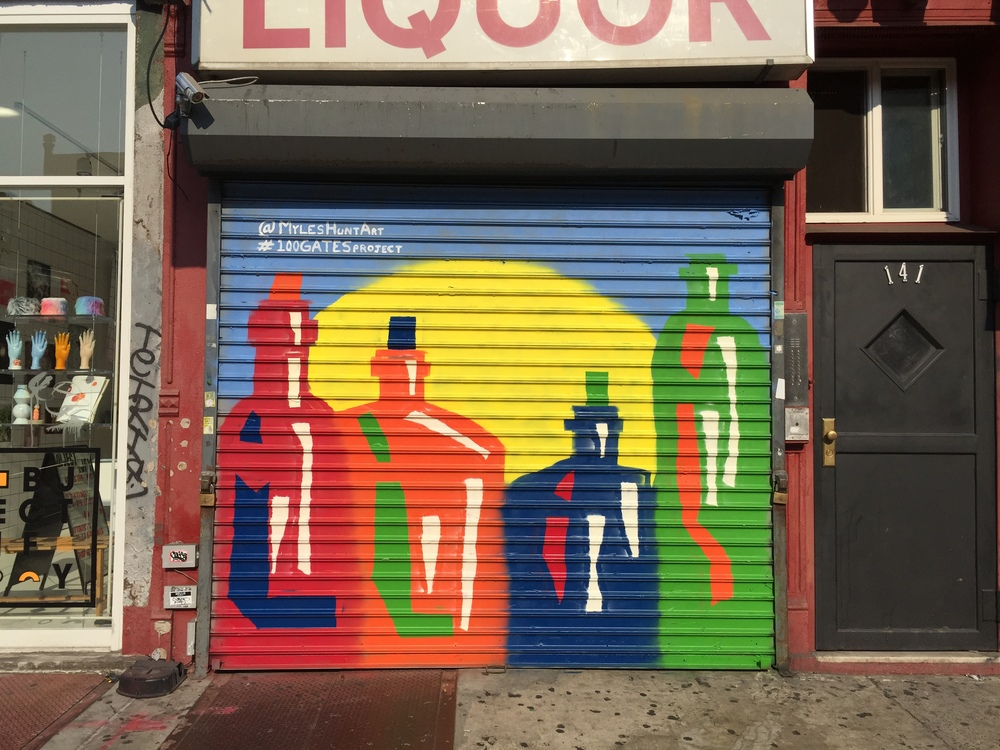 Gary's Liquors @ 141 Essex Street    Artwork by  Myles Hunt