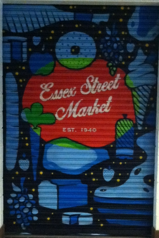 Essex Street Market @ 120 Essex Street    Artwork by  Dominic Corry c/o Klughaus