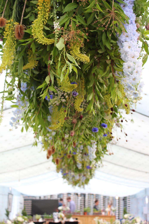 Glastonbury flowers, Event flowers, hanging flowers.JPG