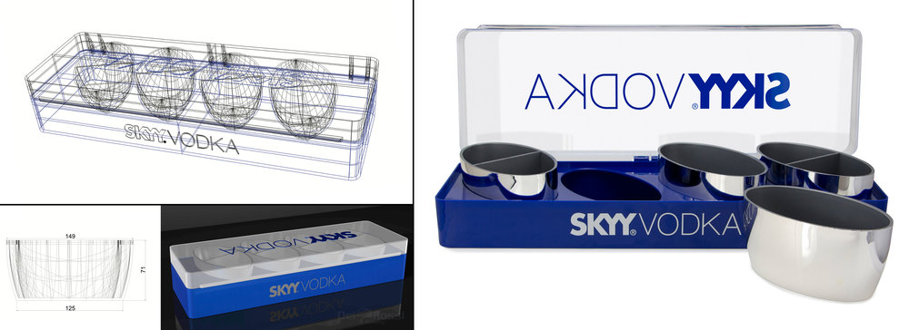 Skyy Garnish Tray