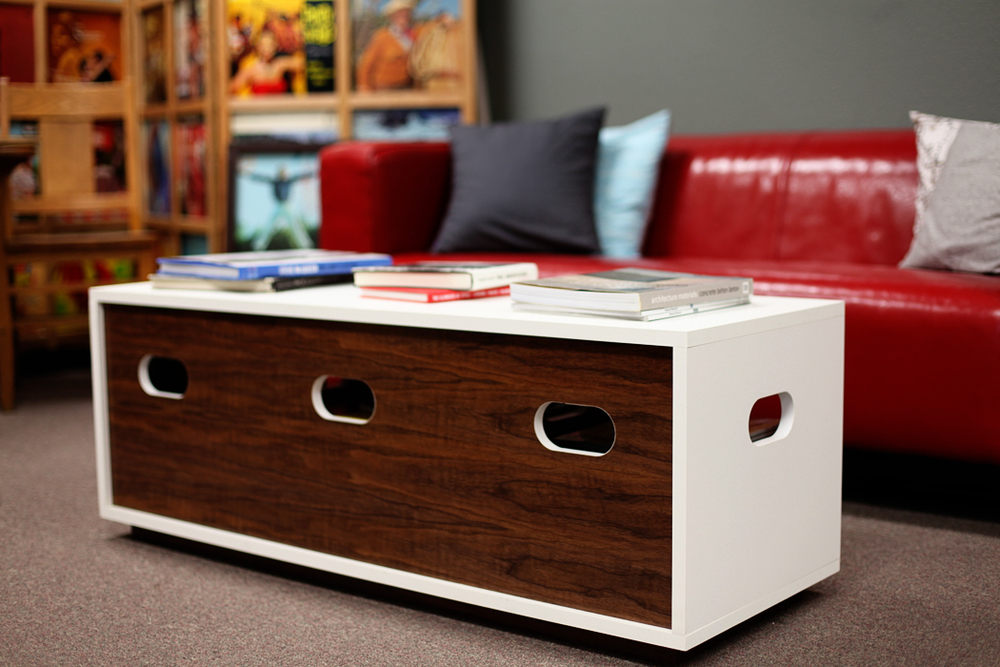 The Two-Tone Special Storage Bench