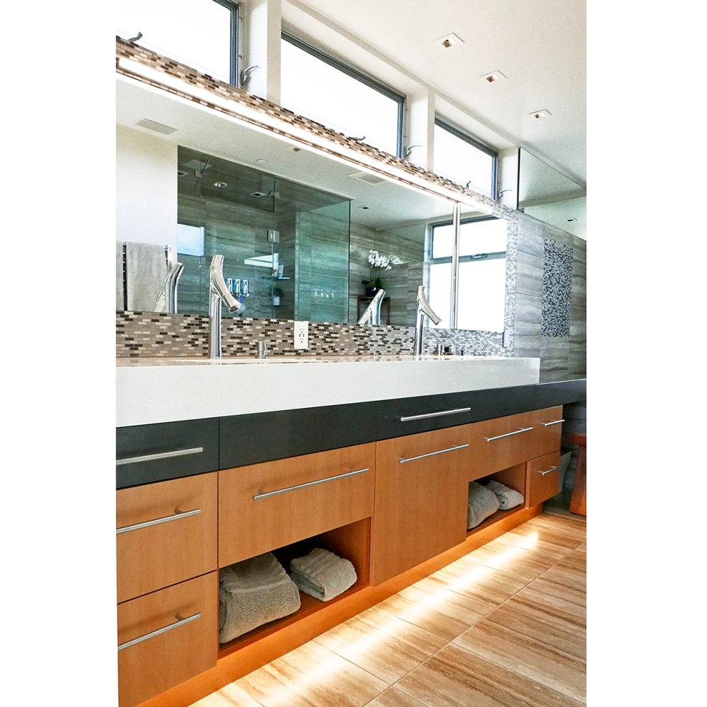 Custom Modern Bath Vanity