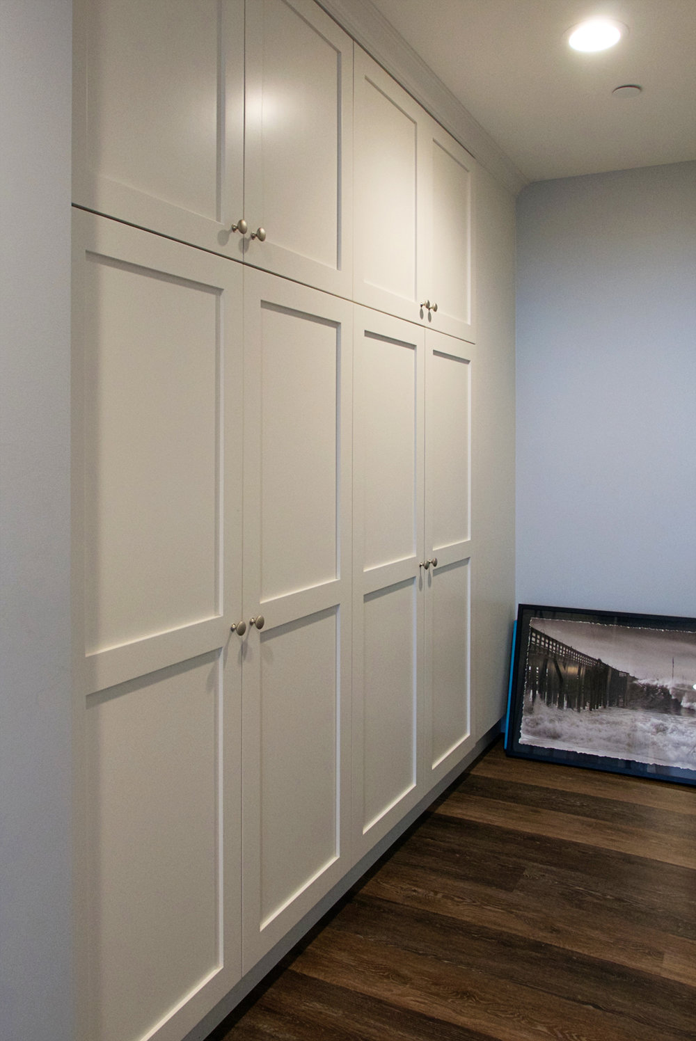 Custom Hallway Storage Cabinetry