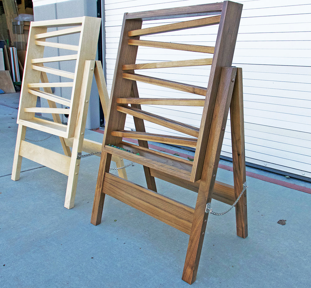 Walnut and Maple Marble Runs for Kids of All Ages
