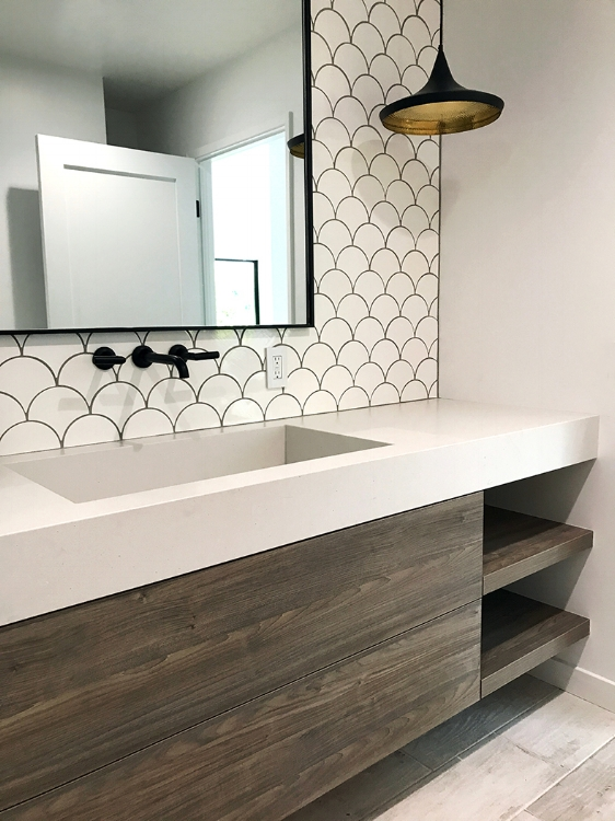 Modern Custom Bath Vanity