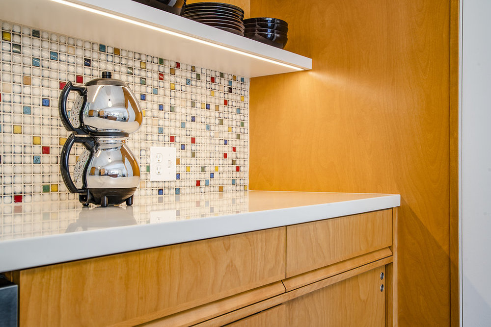Custom Cabinetry for Eichler Home