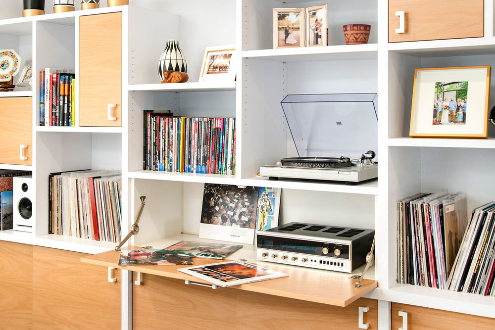 Building A Home For Your Records and Turntable