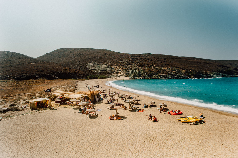 Surfing in Greece - Kolimbithra, Tinos