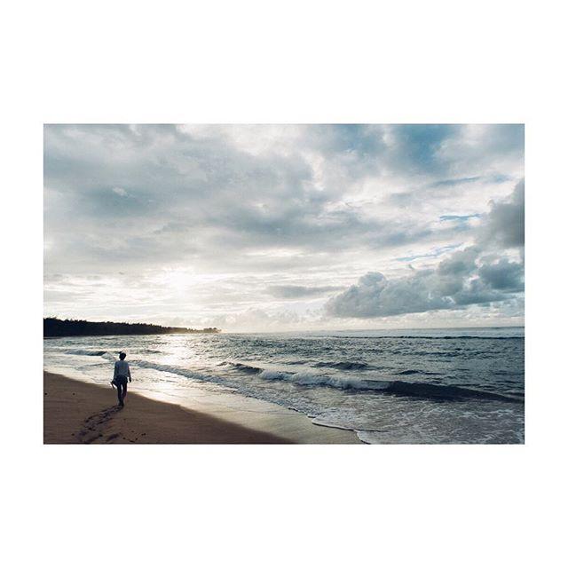 Half of me is ocean / half of me is sky