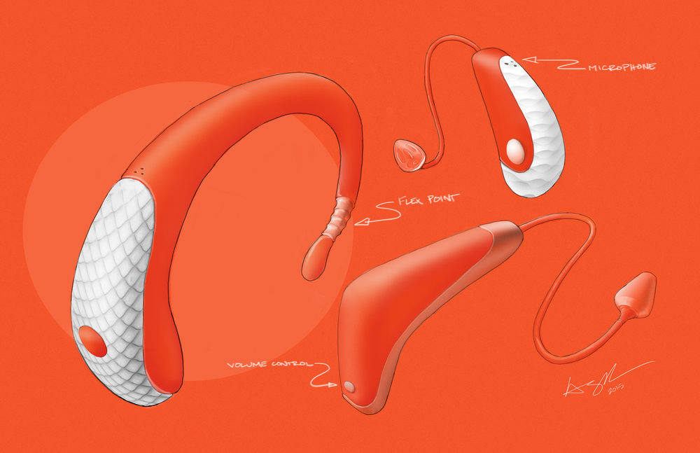 Hearing Aid Sketches