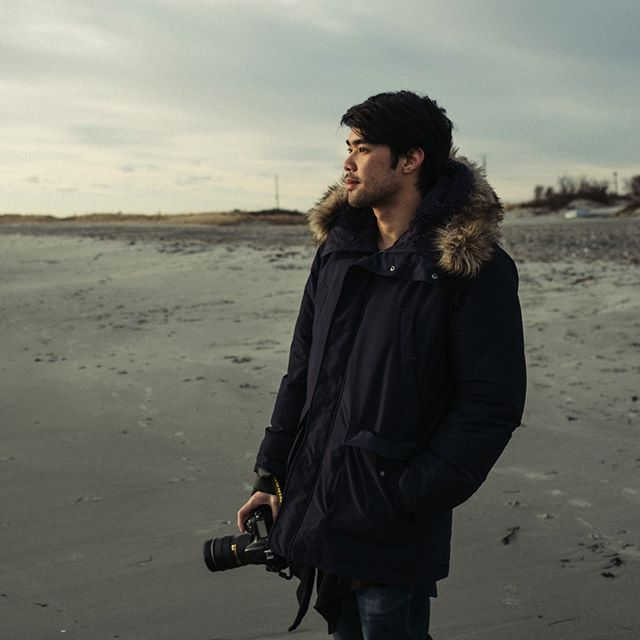 My friend Ice @styleiceza came to visit   check out his awesome work at www.warut-w.com . . . #winterwalk #3rdbeach #newportri