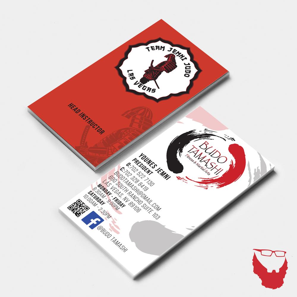 VerticalBusiness Card Mock Up.