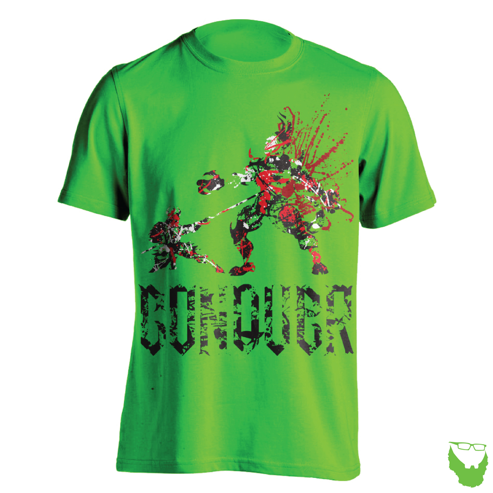 Conquer Green T