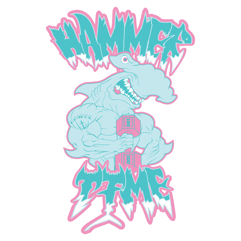 'HAMMER TIME WHITE'
