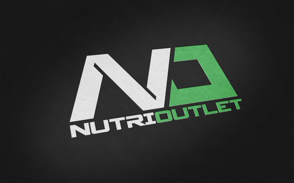 Nutri Outlet Logo Color Mock