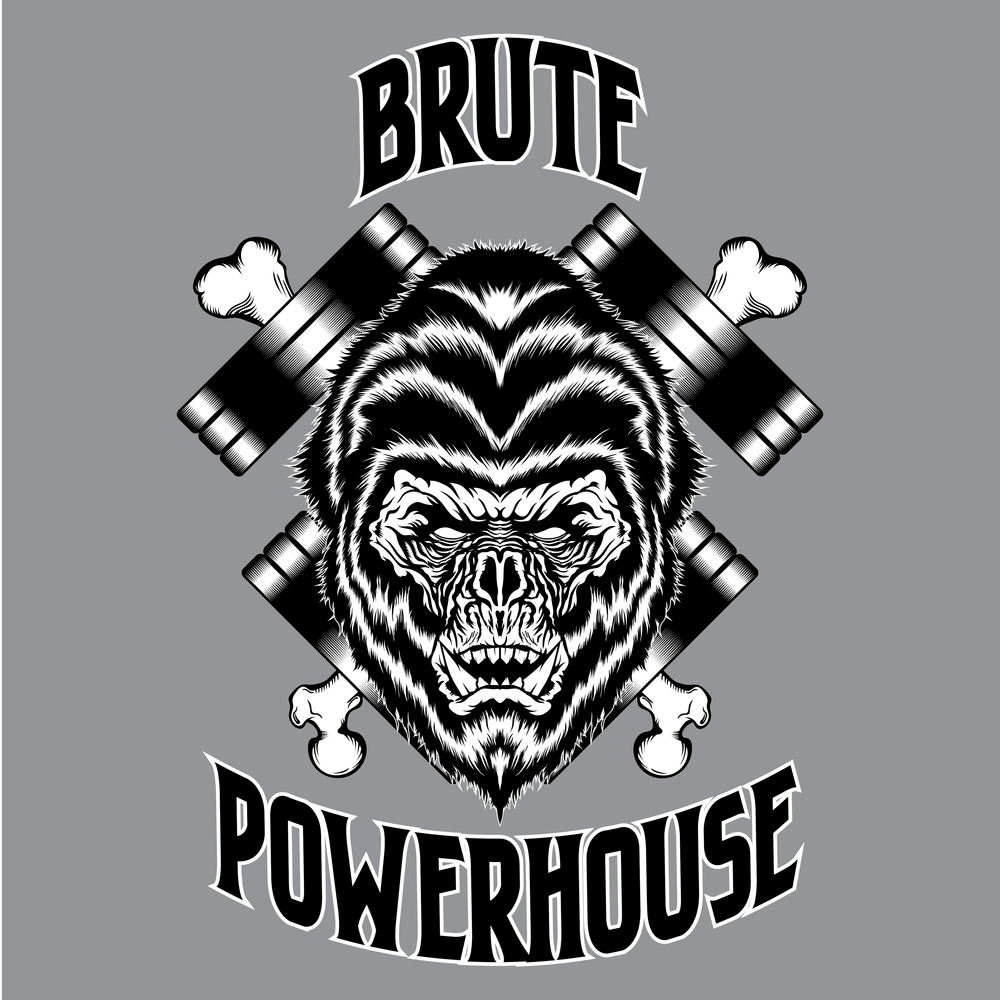 brute-powerhouse-illustration-logo-adobe-illustrator-vector-art-artist-gorilla-monster-ape-savage-gym-crossfit-powerlifting-roberto-orozco-design-graphic-designer-black-white-crosbones-grey.jpg