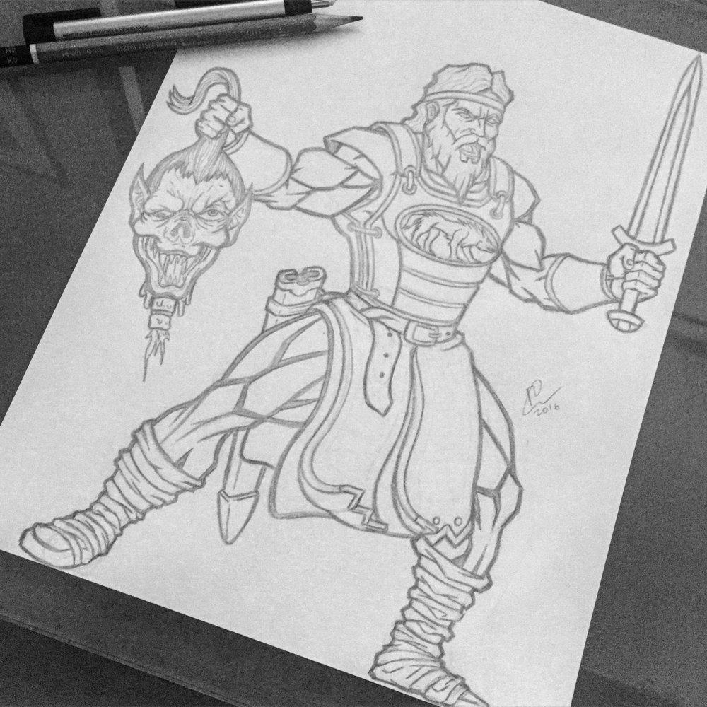 beowulf-vegr-raskol-raskolapparel-omar-omarisuf-sketch-pencil-graphite-viking-vikings-inktober-inktober2016-orozcodesignstudio-orozcodesign-roberto-orozco-artist-art-illustration-design.jpg