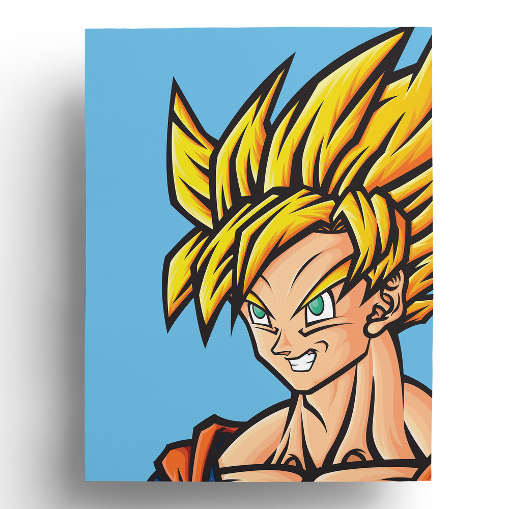 dragonball-dragonballz-dbz-goku-super-saiyan-vector-art-illustration-print-roberto-orozco-design-illustrator-artist-yellow-blue-green-orange.jpg