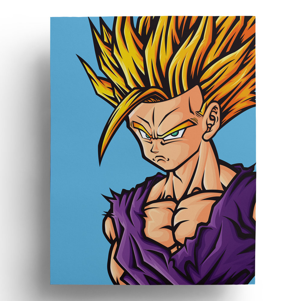 dragonball-dragonballz-dbz-gohan-goku-super-saiyan-vector-art-illustration-print-roberto-orozco-design-illustrator-artist-green-purple-yellow-blue-print.jpg