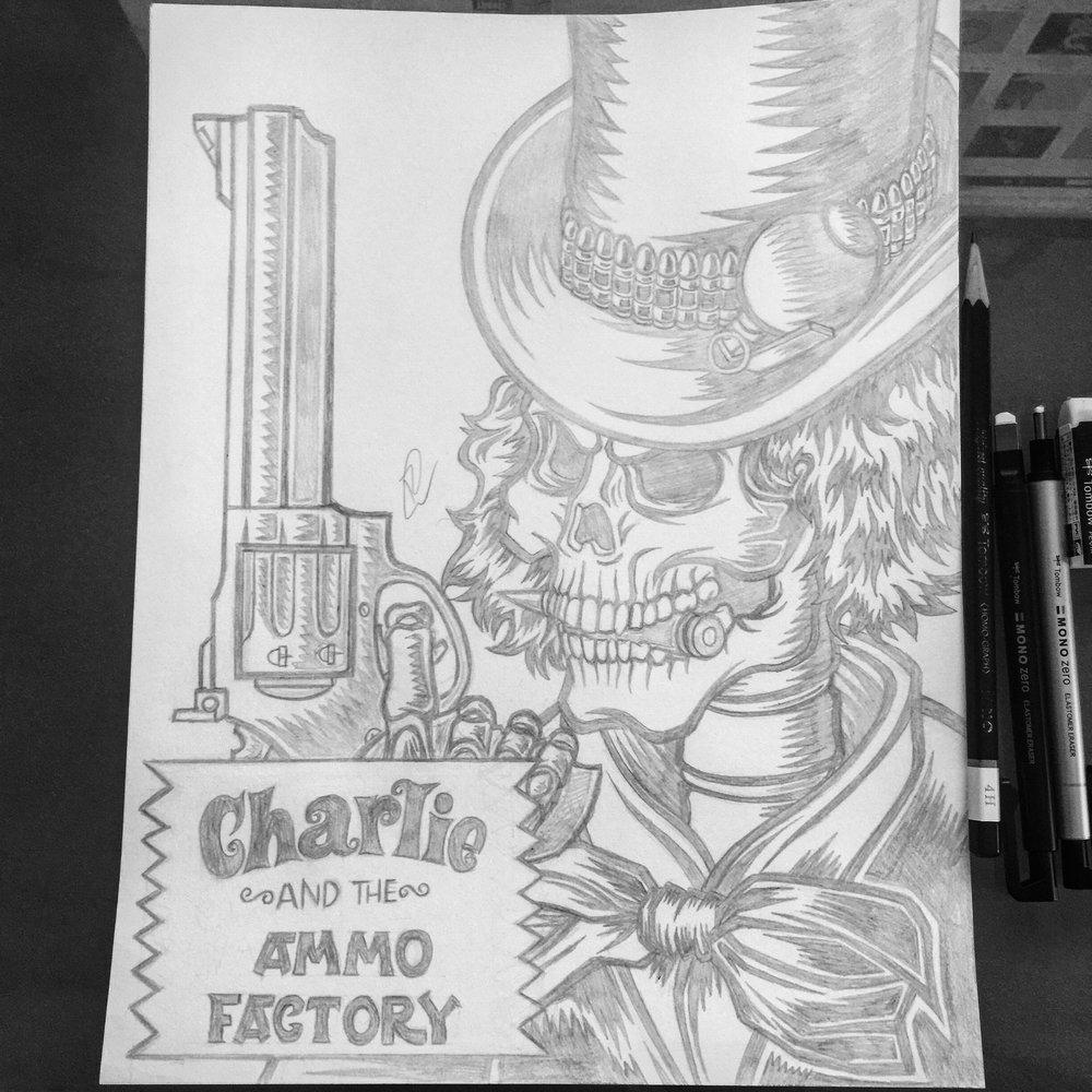 defcon-propaganda-charlie-and-the-ammo-factory-pencil-illustration-roberto-orozco-design-robertoorozco-orozcodesign.jpg