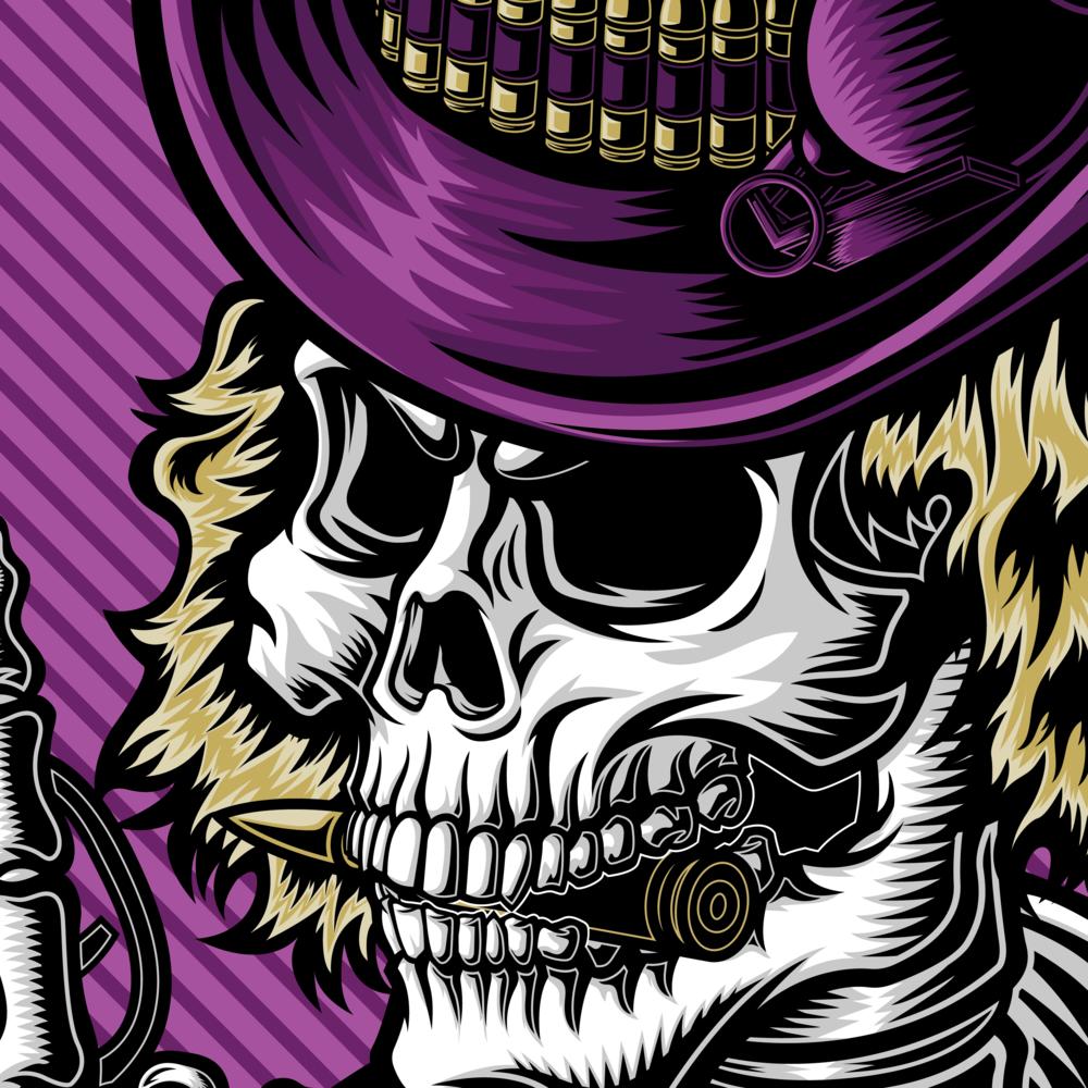 defcon-propaganda-charlie-and-the-ammo-factory-pencil-illustration-roberto-orozco-design-robertoorozco-orozcodesign-vector-vectorillustration-guns-patch-skull-purple.jpg