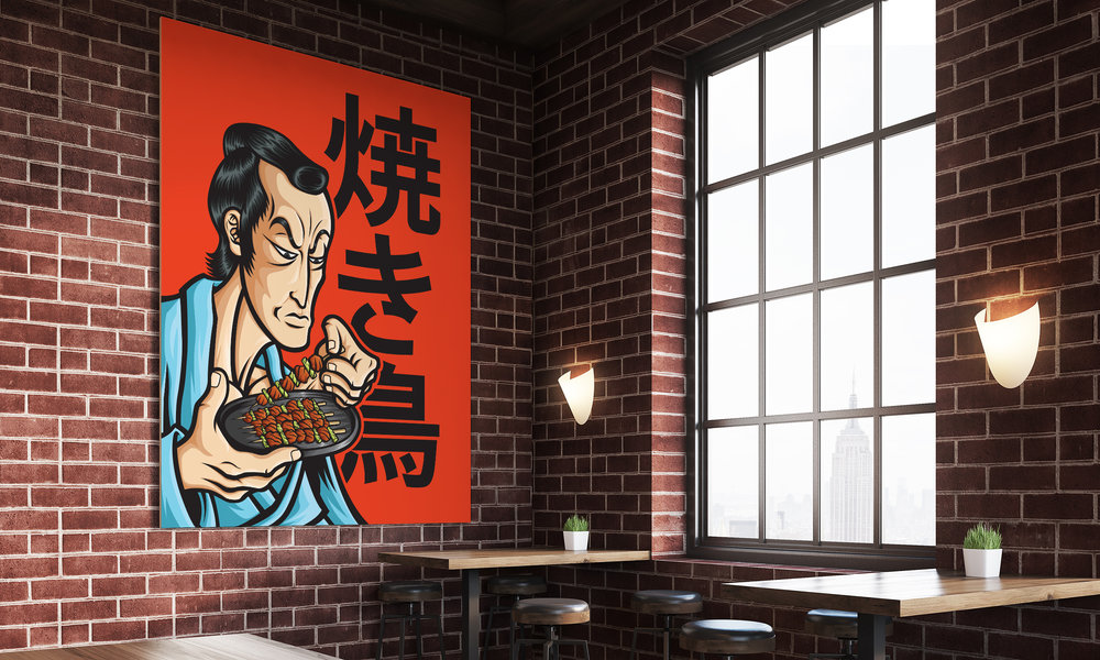 orozcodesign-stickermonster-YakiToriSamurai-RestauranMockjpg.jpg