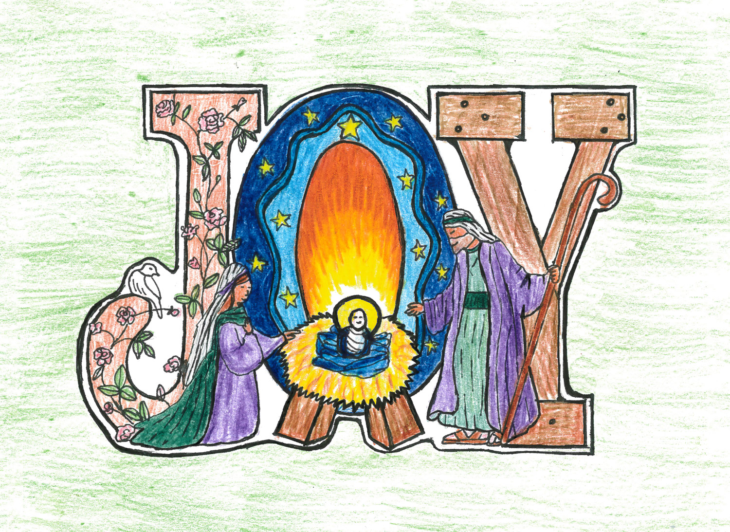 Christmas Card Designs 2014 — St. Mary\'s Menston Catholic Voluntary ...