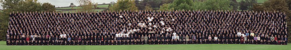 Photo: Historic St. Mary's Menston whole school photograph, October 2004