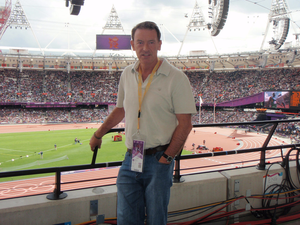 Photo: At the London Olympics Athletics, 2012