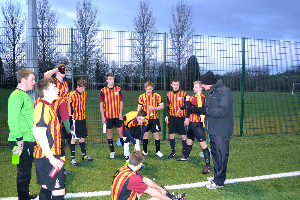THE 10s: Coaching the Sixth Form Football 'First XI'.