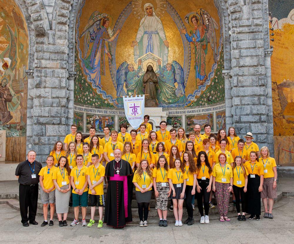 Photo:Lourdes St. Mary's Menston Group Photo 2015
