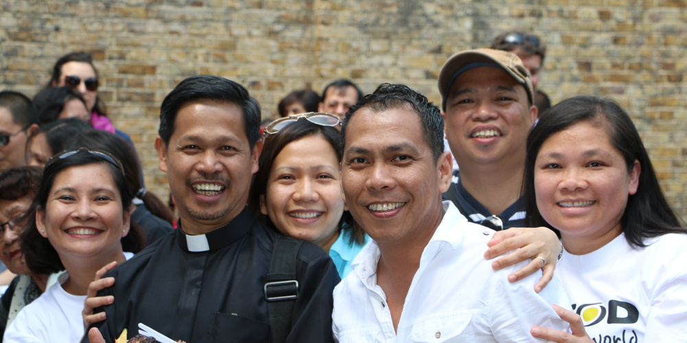 Photo:  Fr Edwin Gariguez