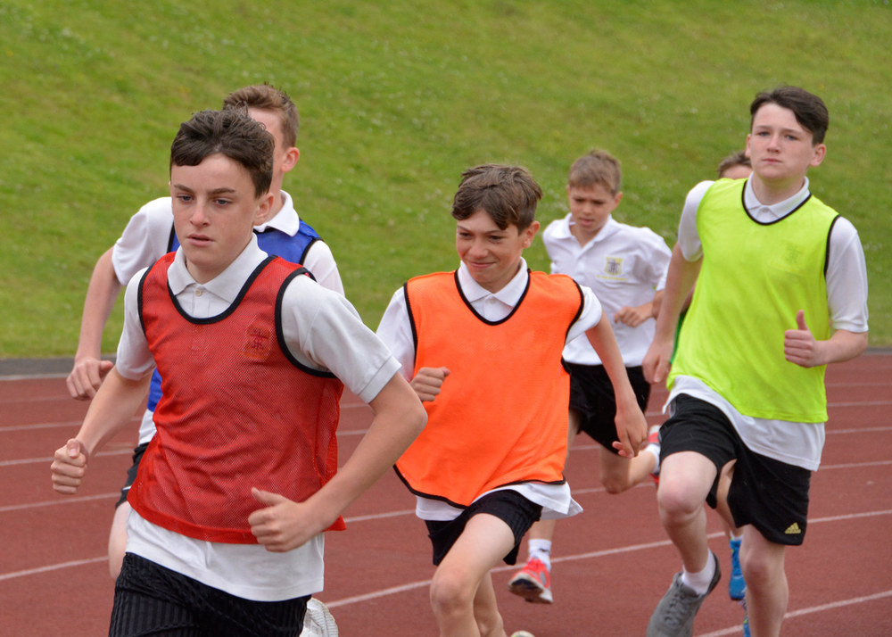 Photo: Sports Day at the John Charles Centre for Sport, July 13 2015.