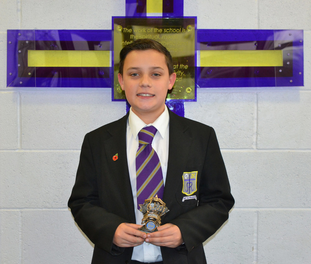 Flute: Sam Clifford-Hassan with his Best Musician award