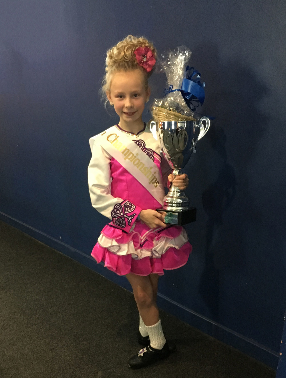 Photo: Jessica Heyburn, 11 and under European Champion 2015
