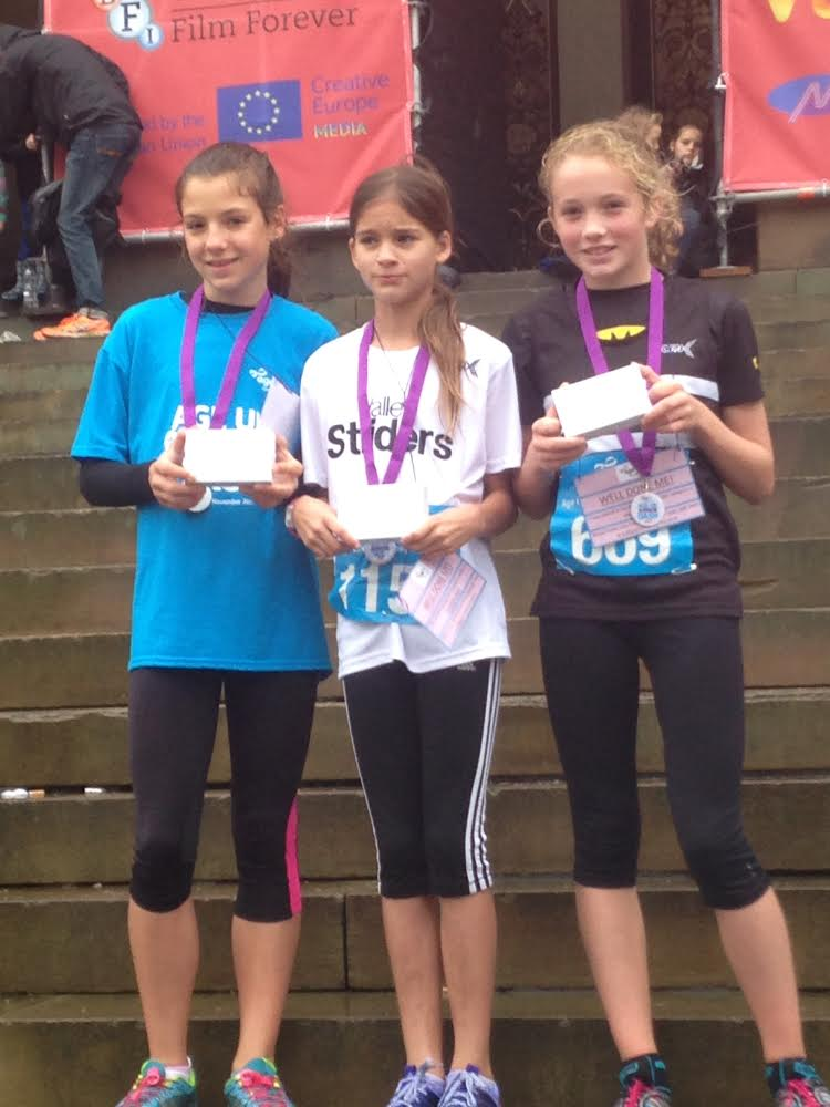 Photo: Holly (on the right) with her medal