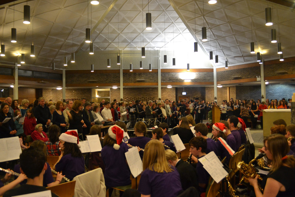 Photo: A past Carol Service at Leeds Trinity University, 2012
