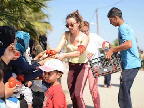 Photo: The work of Kos Solidarity, July 2015