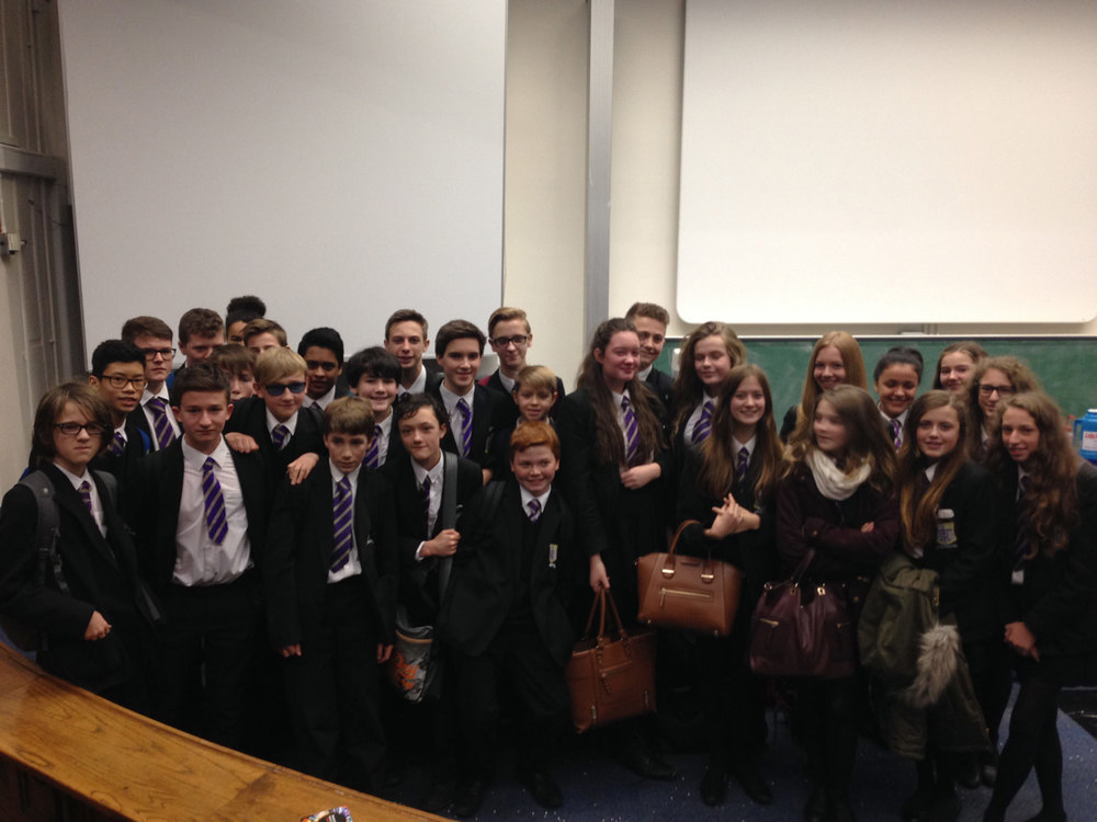Photo: Our Year 9 Chemists enjoyed the event, 15 December 2015