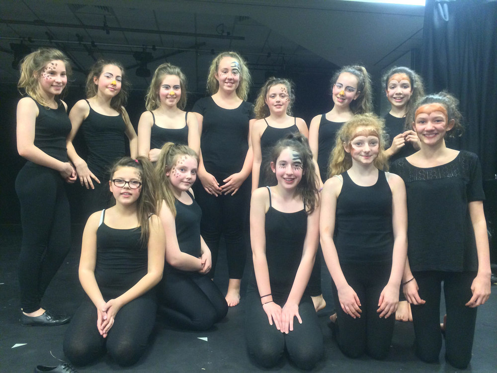 Photo: St. Mary's dance has considerable strength in depth - our other Key Stage 3 dance team