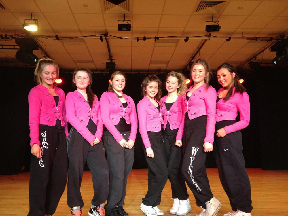 Photo: Left to Right: Amorette Lawn, Chloe Williams, Sophie Sage, Caragh Casserly, Alicia Wilson, Alicia Stringwell, Sophia Lenik
