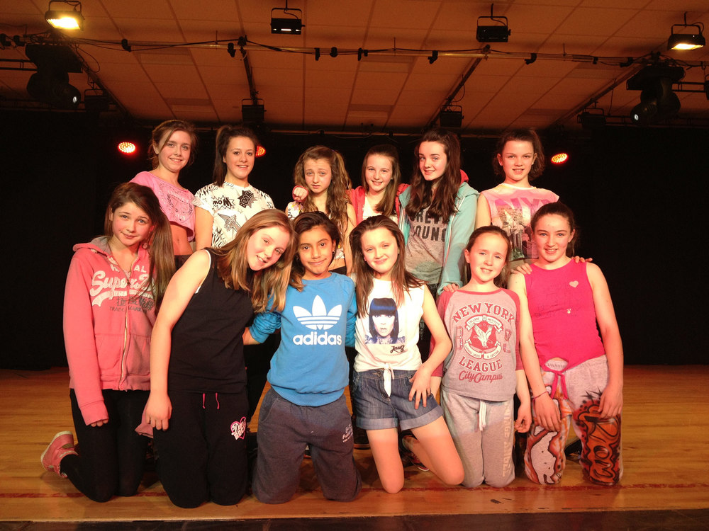 Back Row Left To Right: Mischa Simpson, Molly Steele, April Walton, Lucy Hings, Rhianne Shaw, Charlotte Pickstone  Front Row Left To Right: Hattie Barnes, Fiona Moore,Anna Slaboduch, Ella-Grace Shaw, Libby Woffenden, Romey Parker