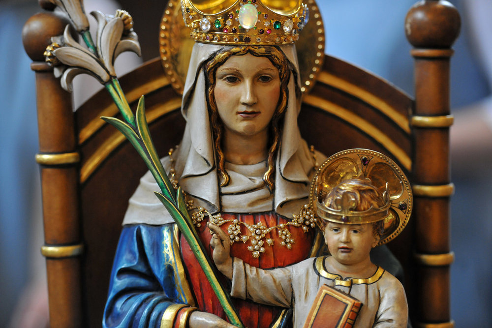 Photo: Our Lady of Walsingham © Mazur/catholicchurch.org.uk